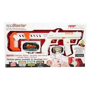 AppToyz - AppBlaster only £4.80 delivered @ Debenhams [turns your iphone into an interactive gaming system]