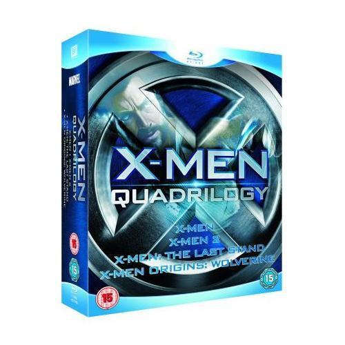 X-Men Quadrilogy Blu-Ray £7.99 Play.com