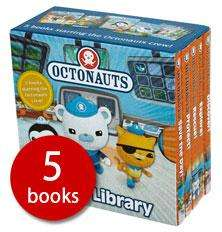 Octonauts Little Library (Boardbook) 5 books only £2.24 delivered @ Red House Books