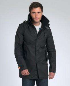 New Mens Superdry Jermyn Street Coated Trench Jacket £44.99, RRP £119.99 @ eBay Superdry Store