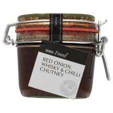 Tesco Finest Onion Chutney with Whiskey and Chilli 400g - Was £3.89/Reduced to 25p Instore @ Tesco