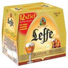 Leffe blonde beer  £6 for 12 *250ml (half price) @ Tesco