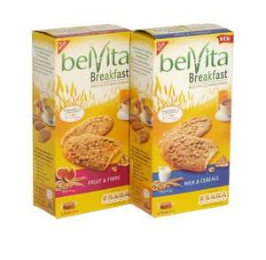Belvita Breakfast Biscuits all half price at Sainsburys