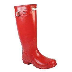 HUNTER WELLIES RED £35.20 @ Amazon