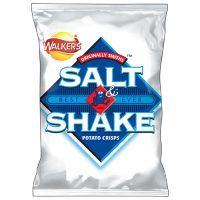 Walkers Salt & Shake Crisps 10p each @ Home Bargains