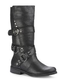 Viva La Diva Biker Standard Fit Boots was £28 now £12 @ Marisota