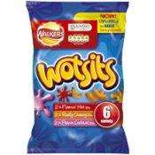 6 pack Wotsits 3 flavours 69p at Home Bargains