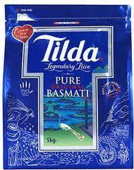 Tilda Basmati Rice 5KG @ Asda £5