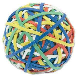 200 ASSORTED NATURAL RUBBER ELASTIC BAND BALL £3.96 @eBay