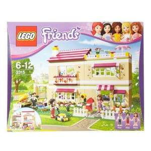 Debenhams have Lego Friends Olivia's House - 3315 now £56 del with codes