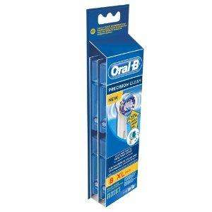 8 Pack Oral B Precision Clean Brush Heads - £15 Instore @ Tesco