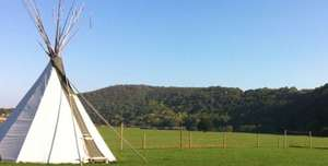 £109 Romantic Escape for Two in a Luxurious, Furnished Tipi (normally £200) for £109 @ Kelkoo Select Daily Deals
