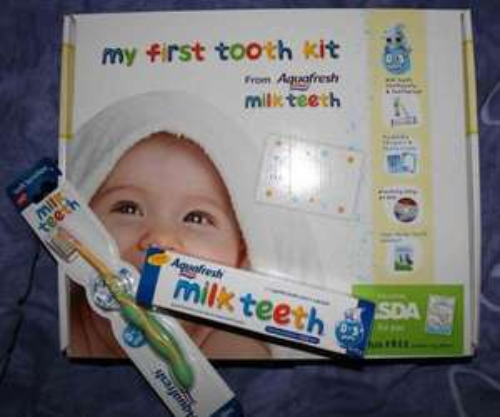 Aquafresh First Tooth Kit - Reduced to £1 @ ASDA