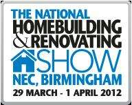 2 x FREE tickets (worth upto £30!) to the National Homebuilding & Renovating Show at Birmingham NEC - 29 March to 1 April 2012