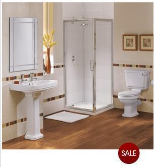 Windsor Pivot Shower Suite @ Very - £19.00! (£25.95 delivered)
