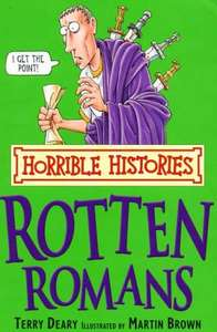 7 Horrible Histories Books with the Daily Record/Sunday Mail (from 45p)
