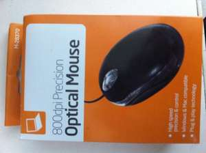 800 DPI Optical USB Mouse £1 @ Poundworld