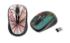 Microsoft 3500 Wireless mouse From £19.99 to £4.99 - 2 designs @ Comet