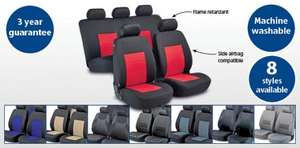 Full set of Car Seat Covers £14.99 @ Aldi