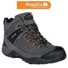 Mens Regatta Footwear Walking boots Ad-scursion in Grey was £65 now £19.99 @ RegattaDiscountStore / Ebay