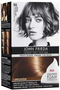 John Frieda hair colour foam £2.50 (originally £10) @ Sainsburys
