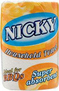 HOME BARGAINS - NICKY KITCHEN TOWEL 2 ROLLS 49 P