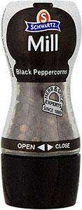 Schwartz Black Peppercorns Twist & Taste Mill (35g) 2 for £2 (usual price £2.70 each) @ Sainsbury's