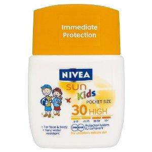 Nivea Sun Lotion Childrens Pocket Size SPF50 50ml - £3 delivered @ Amazon