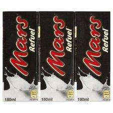 Mars Refuel 3x 180ml (also Milkyway) Milkshakes 50p instore & online @ TESCO