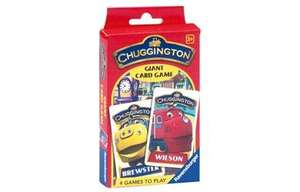 StarWars, In the Night Garden & Chuggington Giant Card Game now £2 @ The Entertainer