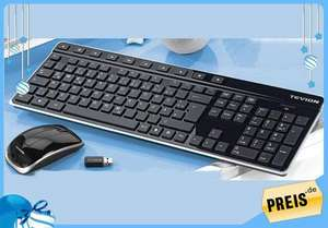 Tevion Wireless mouse and Wireless keyboard Set for £9.99 @ ALDI