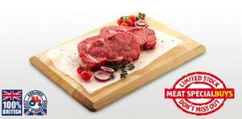 British 21 Day Matured Rib Eye Steak (400g) £4.99 @ Aldi (9th Feb Special)