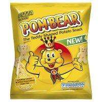 Pom bears single packets crisp pizza and cheese onion flavour 9p home bargains
