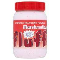 Fluff Marshmallow Spread - Raspberry  213g - Approved Foods - £0.99