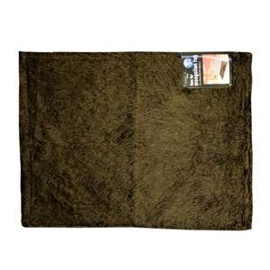 Faux fur Mongolian rugs 70x90cm marked as £5.99 scanning for £1.00 @B&M bargains