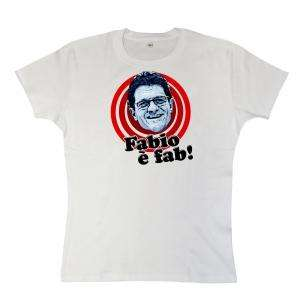 Fabio è fab girls T-Shirt  [Fabio Capello decal fashion] £15.99 @ 8Ball