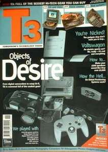 T3 Magazine first ever issue (1996) FREE PDF Download
