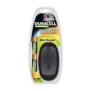 Duracell Mini Charger includes 2x 1700mAh AA Batteries (UK Plug-Black) £5.99 delivered @ mytravelbits