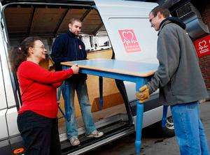 Unwanted Furniture & Electricals Collected for Free from the British Heart Foundation