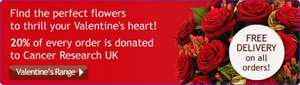Buy a Valentines gift and make a difference - Cancer Research UK