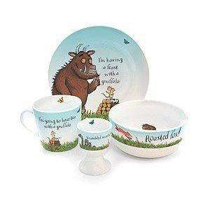 Gruffalo 4 piece dinner set £11.35 delivered by Wild and Wolf fulfilled by Amazon
