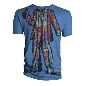 Doctor Who (Dr Who) Men's Headless Baker T-Shirt (Blue) - £5 @ Play.com