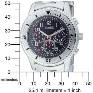 Timex Gents Watch Milan Chronograph T2N159 £22.91 Delivered from Amazon