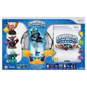 tesco direct skylanders starter pack £34.91 (Wii, 3DS & PS3) @ Tesco Direct