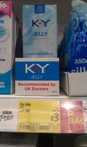 KY Jelly Personal Lubricant £3 @ Asda