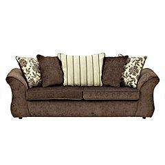 Sainsbury's 60% off selected sofa's - Sadie Large Chocolate Sofa £319.20 was £798 free deliverywas