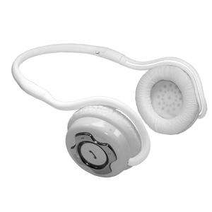 Bluetooth Stereo Headphones / Handsfree Headset With Microphone - Sports Neckband - White £18.99 Delivered @7dayshop