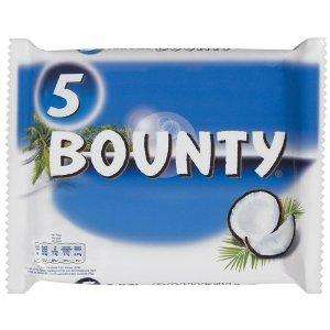 Bounty Milk Multipack 5 x 57 g (Pack of 7) £7  from Amazon