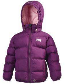 Helly Hansen Kids Bubble Insulated Jacket Violet £32.50 - 50% Reduction @ Trekitt