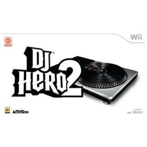 DJ Hero 2 Wii (includes Turntable Controller & Bonus DJ Hero Game) only £9.99 delivered @ Choices